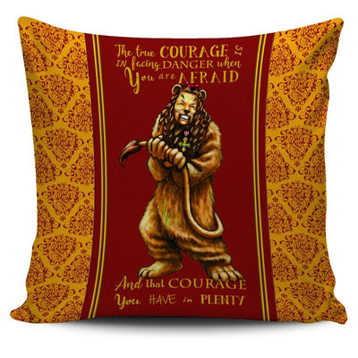 The Wizard of Oz Cowardly Lion Throw Pillow Scatter Cushion Cover