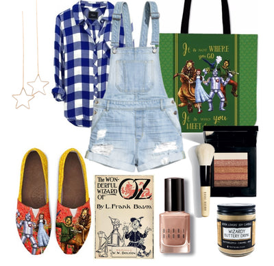 The Wizard of Oz Inspired Outfit (Casual Style)