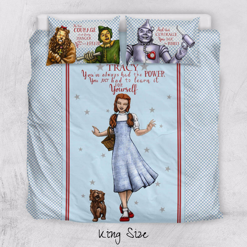 The Wizard Of Oz Duvet Personalized Name Duvet Cover