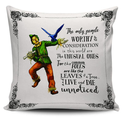 The Wizard of Oz Scarecrow Throw Pillow Scatter Cushion Cover