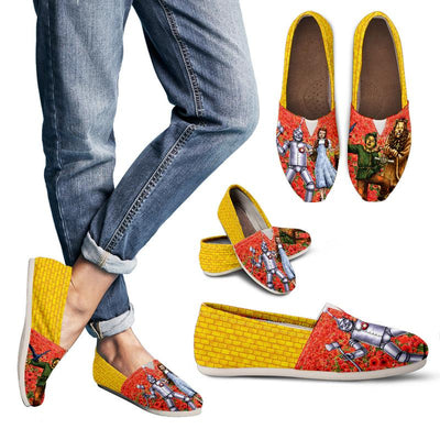 The Wizard of Oz Casual Shoes for Women | Featuring Dorothy & Toto, the Scarecrow, the Tin Woodman and the Cowardly Lion.