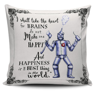 The Wizard of Oz Tin Woodman Throw Pillow Scatter Cushion Cover