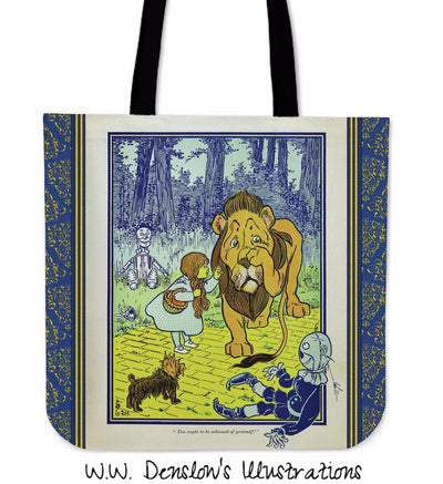 L. Frank Baum's The Wonderful Wizard of Oz Tote Bag | Illustration by W.W. Denslow