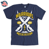 Warriors Fear No Death American Apparel Mens Shirt in Navy