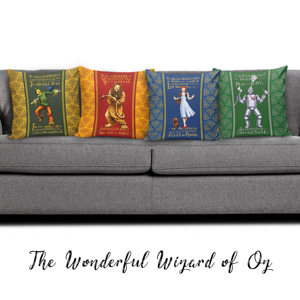 Peachy The Wizard Of Oz Throw Pillow Scatter Cushion Cover Dailytribune Chair Design For Home Dailytribuneorg