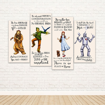 The Wizard of Oz Framed Canvas Wall Art