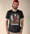 'Wood You Be Mine?' Bearded Lumberjack American Apparel Mens T-Shirt