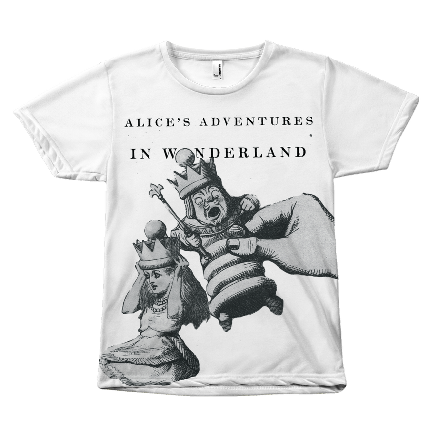 Alice in Wonderland Literary Tee Shirt