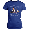 """You Say I'm A Witch Like It's Bad Thing"" Witch T-Shirt (Blue Women's Crew Neck)"