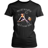 """You Say I'm A Witch Like It's Bad Thing"" Witch T-Shirt (Black Women's Crew Neck)"