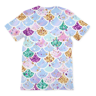 Mermaid Scales Unisex T-Shirt. Printed on American Apparel T-shirts, in London. Ships free worldwide! Click this image for more details.