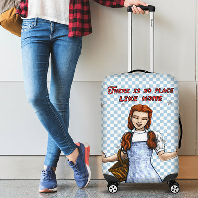 'There is no place like home' Wizard of Oz Luggage Cover featuring Dorothy Gale. Click this image for more details!