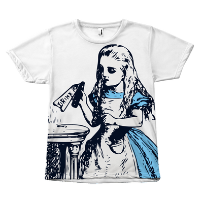 Alice in Wonderland 'Drink Me' Shirt (Literary Style)