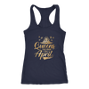 'Queens Are Born in April' Racerback Tank (GOLD) LIMITED EDITION