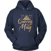 'Queens Are Born in May' Hoodie (GOLD) LIMITED EDITION