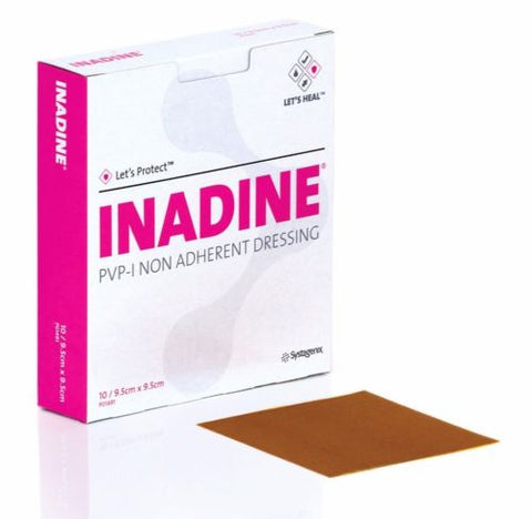 Inadine 5cm x 5cm Non-Adherent Dressings - Choose QTY
