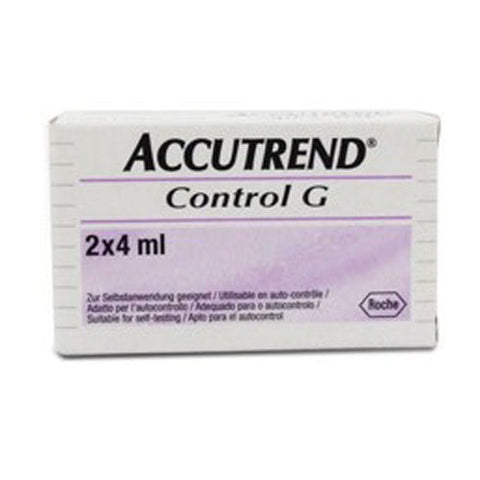Accutrend Glucose Control Solution 4ml x 2