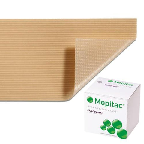 Mepitac Fixation Tape 4cm x 1.5m x 6 Highly Comformable