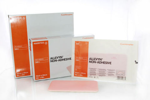 ALLEVYN Non-Adhesive 10cm x 20cm Advanced Foam Wound Dressings 66157335