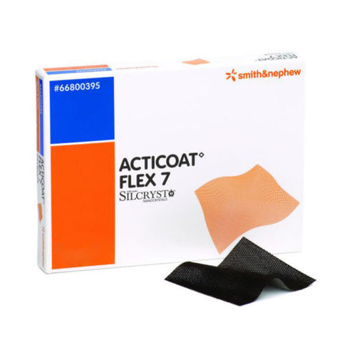 Acticoat Flex 7 Silver Coated Antimivrobial Dressings 15cm x 15cm x 5