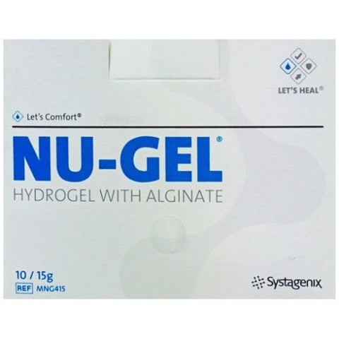 NU-Gel Alginate Hydrogel 15g x 10