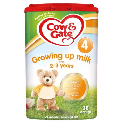 Cow & Gate 4 Growing Up Milk 800g Powder 2-3 Years