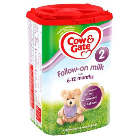 Cow & Gate 2 Follow On Milk Powder ( 800g ) 6-12mnths
