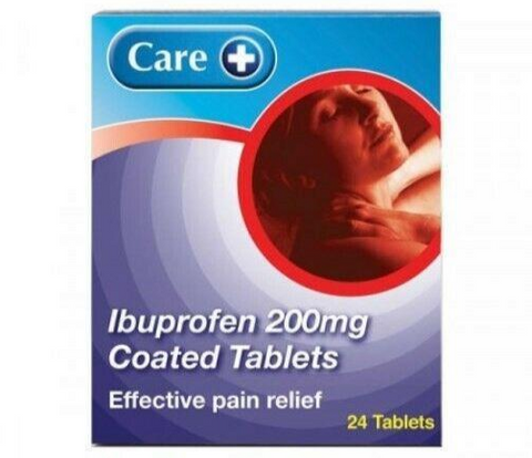 Ibuprofen 200mg Tablets Pain Relief Tablets 24 - Multibuy - MAX 2 Packs/Order