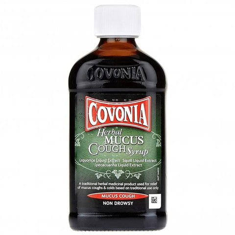 Covonia Herbal Mucus Cough Syrup 300ml