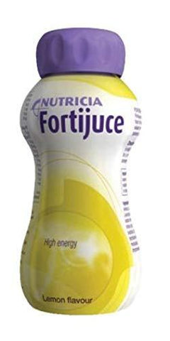 24x Fortijuce Fortijuice Lemon High Energy Juice Supplement 200ml Bottle