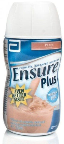 Ensure Plus Milkshake Peach 200ml x 30 - Bulk Buy Discount