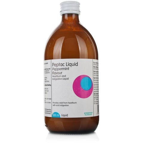 Peptac Peppermint Flavour Liquid 500ml