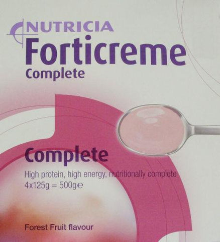 Nutricia Forticreme Complete Forest Fruits ( 4 x 125g)