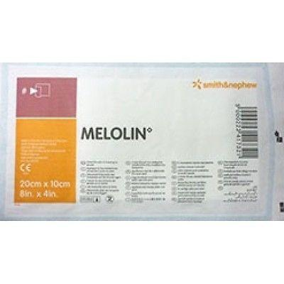 Smith & Nephew Melolin 10 x 20 cm Low Adherent Absorbent Dressing(s) - Wounds Abrasions Burns