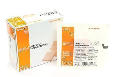 ALLEVYN Non-Adhesive 5cm x 5cm Advanced Foam Wound Dressings 66157643 Wound Dressings - Allevyn Smith & Nephew- EasyMeds Healthcare LTD