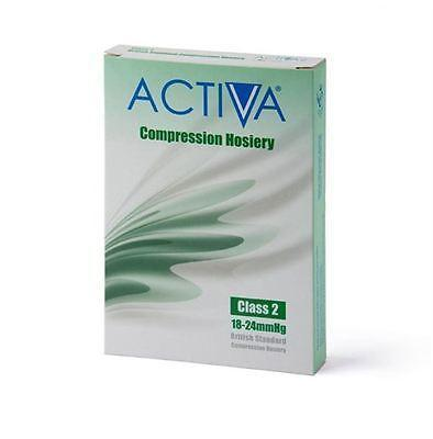 Activa Class 2 Thigh Compression Support Stockings Open/Closed Toe 18-24mmHg Compression Stockings Socks and Tights