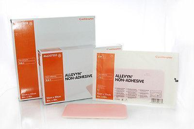 ALLEVYN Non-Adhesive 10cm x 20cm Advanced Foam Wound Dressings 66157335 Wound Dressings - Allevyn Smith & Nephew- EasyMeds Healthcare LTD