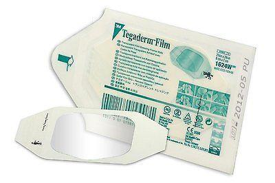 TEGADERM FILM Dressing 6cm x 7cm 3M - Tattoo/Burns/Wounds/Abrasions 1624DT Dressings - Tegaderm Film