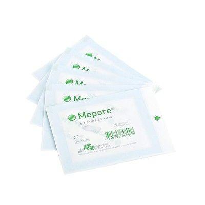 Molnlycke Mepore Sterile Absorbent Dressing(s) 6cm x 7cm - Wounds Cuts Grazes 670800