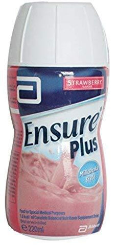 Ensure Plus Strawberry 220ml x 10 Bottles