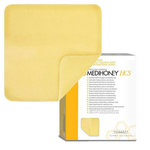 Medihoney Hydrogel Sheets Dressing 11cm x 11cm x 10