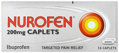 Nurofen 200mg Caplets | Pain Relief | Anti-Inflammatory | Max 2 Packs/Order