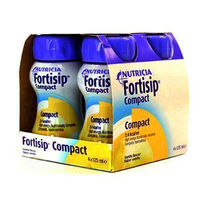Nutricia Fortisip Compact Vanilla ( 4 x 125ml)
