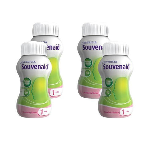 Nutricia Souvenaid Strawberry (125ml x 4)