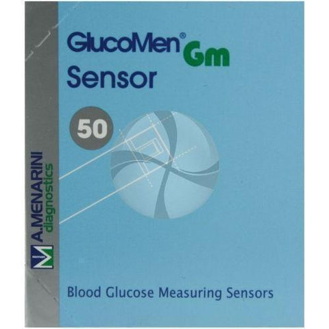 Menarini Diagnostics Glucomen GM Measuring Sensor x 50