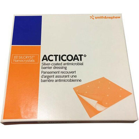 Acticoat Silver Antimicrobial Barrier Dressing 10cm x 20cm x 12