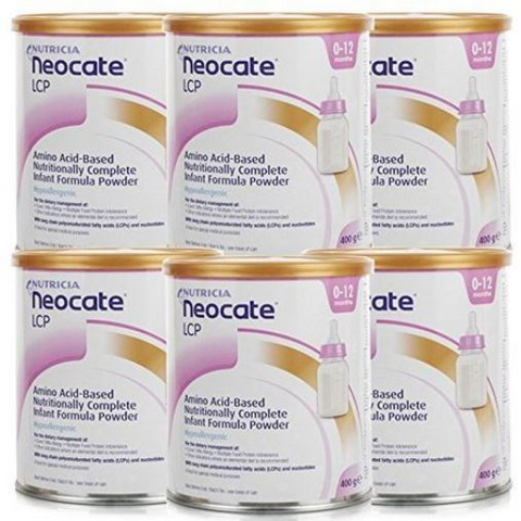 Neocate LCP Formula 6 Pack ( 6 X 400g)