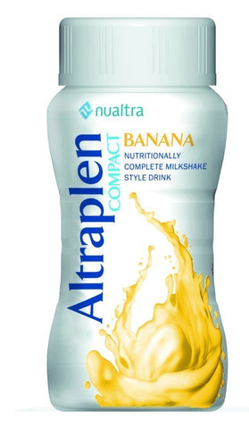 Altraplen Compact Banana ( 4 x 125ml) Nutritional Drinks Nualtra- EasyMeds Healthcare LTD