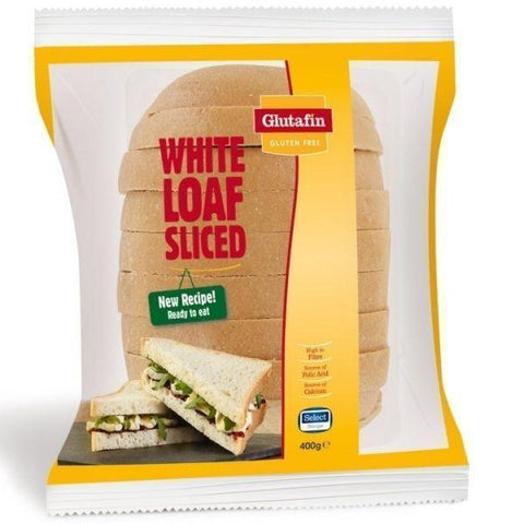 Juvela Glutafin Select Gluten Free Sliced White Loaf 400g