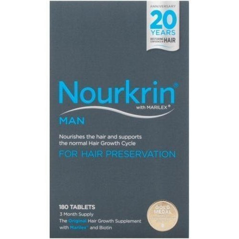 Nourkrin Nourkrin Hair Growth Tablets for Man x 180